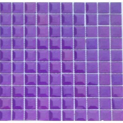 Glas Mosaik 3x3 amethyst FP-HT07 30x30 glänzend