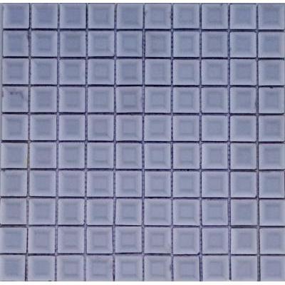 Glas Mosaik 3x3 platin FP-HT09 30x30 glänzend