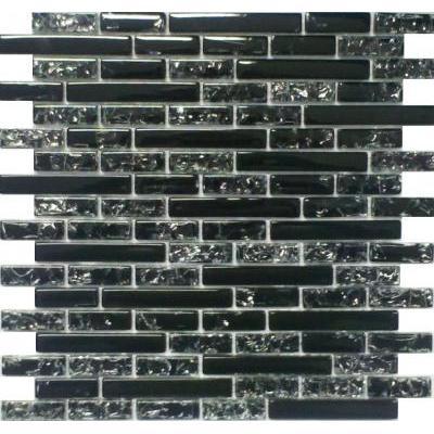 Glas Mosaik schwarz FP-SS-193-98 30x30