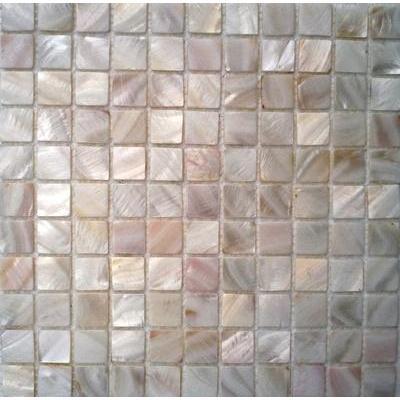 Shell Mosaik 2,5x2,5 weiss FP-BK-02 30x30