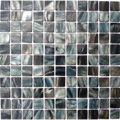 Shell Mosaik 2,5x2,5 black FP-BK-12 30x30
