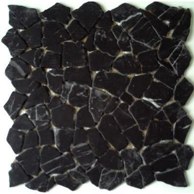 Naturstein Polygonal nero carrara FP-PolyB 30x30