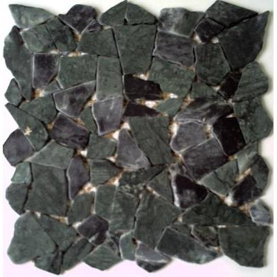 Naturstein Polygonal verde guatemala FP-PolyC 30x30