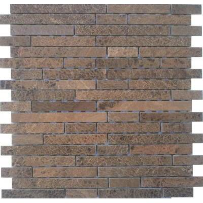 Naturstein Mosaik braun FP-ML0002-Z 30x30 poliert