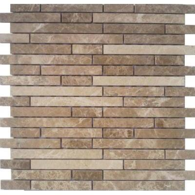 Naturstein Mosaik hell braun FP-ML0003-Z 30x30 poliert