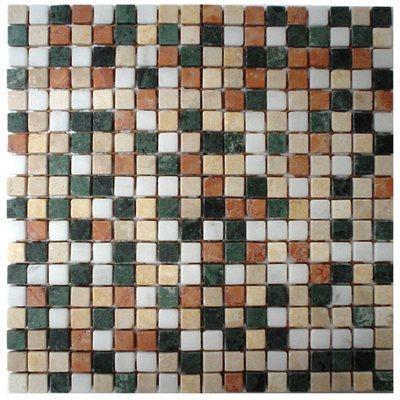 Naturstein Mosaik 1,5x1,5 green FP-MBD-F13 30x30