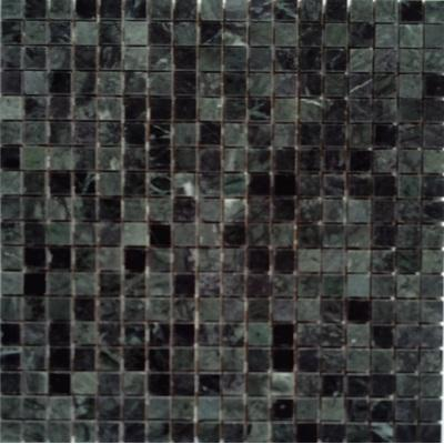Naturstein Mosaik 1,5x1,5 schwarz FP-DS-003 30x30 poliert