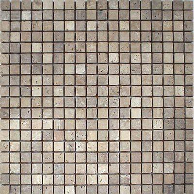 Naturstein Mosaik 1,5x1,5 trav Scuro FP-DD-028 30x30