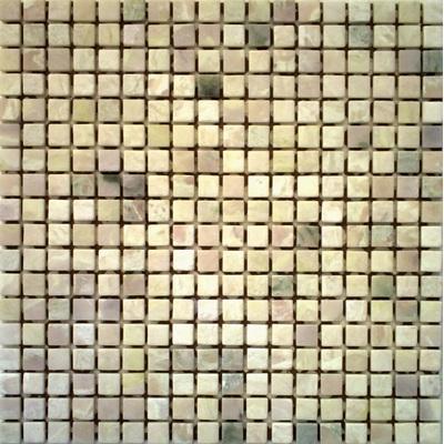 Naturstein Mosaik 1,5x1,5 beige FP-RS085 30x30 matt