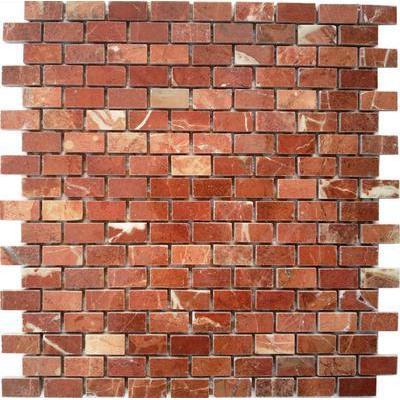 Naturstein Brick rotbraun FP-JDP080-4 Brick 30x30