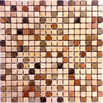 Naturstein Brick braun mix FP-A118-3M 30x30 matt