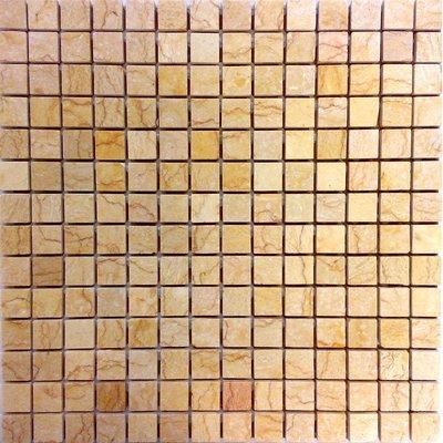 Naturstein Mosaik 2x2 gold FP-RS044P 30x30 poliert