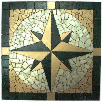 Naturstein Rosone green FP-NDA018-3 Green 60x60 matt