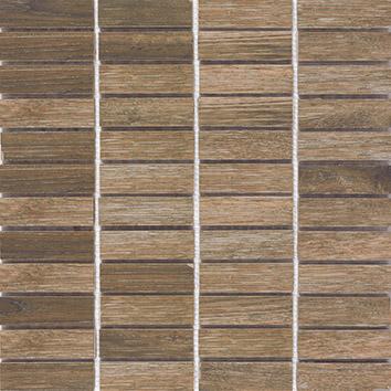Pamesa Bosco Moka PAM-405060MO Mosaik 2,5x7,5 Holzoptik 1. Sorte R10