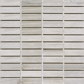 Pamesa Bosco Cenere PAM-396860MO Mosaik 2,5x7,5 Holzoptik 1. Sorte R10