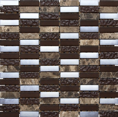 SKP Classico marron SKP-21197 Mosaik 30x30