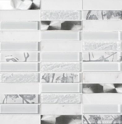 SKP Vario Sky bianco SKP-25416 Mosaik 2,3x9,8