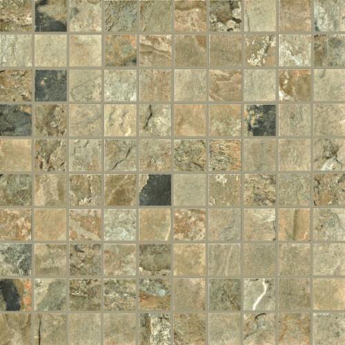 Unicom Starker Natural Slate autumn UNI-4020  Mosaik 3x3 30x30 geschiefert