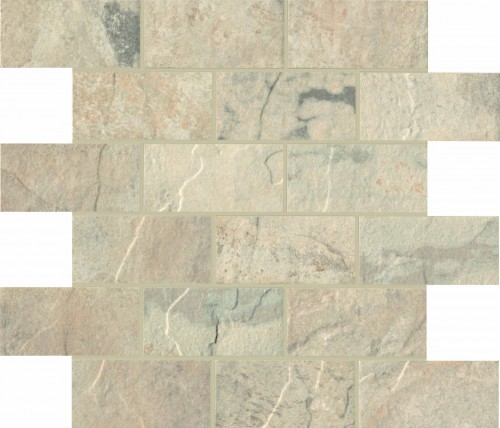 Unicom Starker Natural Slate winter UNI-4019  Mosaik Brick 30x30 geschiefert