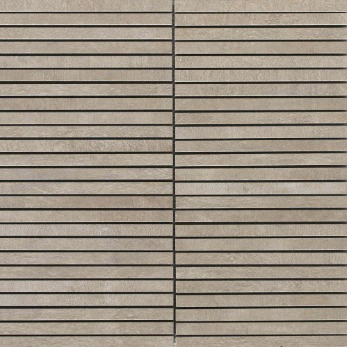 Unicom Starker Icon taupe back UNI-5272  Stripes 30x30 naturale