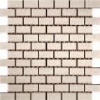 Agrob Buchtal Santiago Naturweiss  AB-221172 Mosaik 2,2x4,7 30x30 eben, vergütet