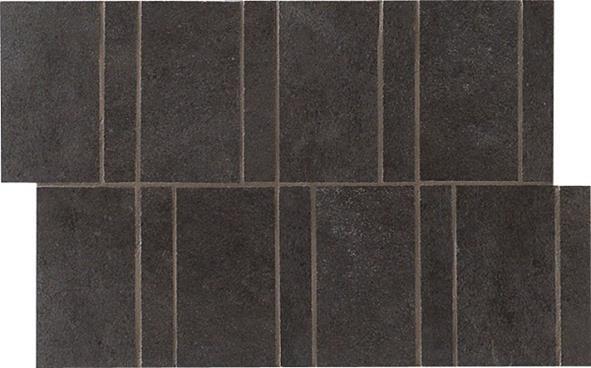 Novabell Soft Look Nero NO-SFT 993K Mosaik 30x20 matt