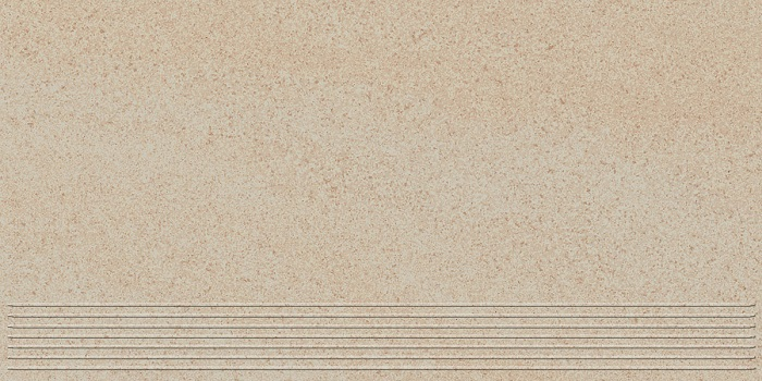 Paradyz Arkesia beige PAR-FZD243425  Rillenstufe 60x30 matt/satiniert