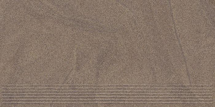 Paradyz Arkesia mocca PAR-FZD260897  Rillenstufe 60x30 matt/satiniert