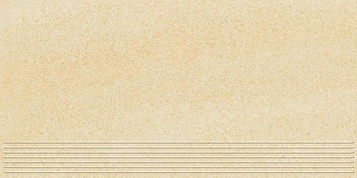 Paradyz Arkesia brown PAR-FZD250345  Rillenstufe 60x30 matt/satiniert