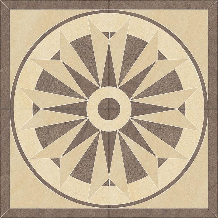 Paradyz Arkesia mocca PAR-FZD260691  Bodendekor 90x90 matt
