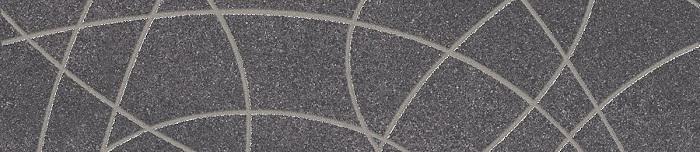 Paradyz Arkesia grafit PAR-FZD252072  Dekor 45x10 matt