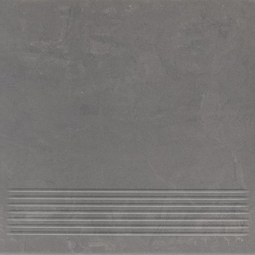 Paradyz Mistral grafit PAR-FZD236383  Rillenstufe 30x30 matt