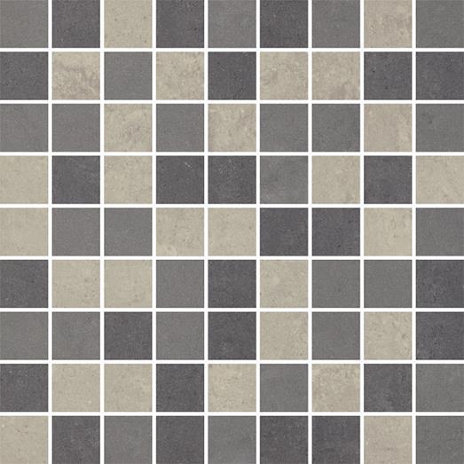 Paradyz Mistral grys PAR-FZD225114  Mosaik 30x30 matt