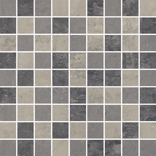 Paradyz Mistral grys PAR-FZD225116  Mosaik 30x30 matt
