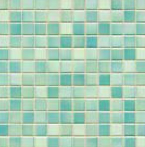 Jasba Fresh light blue-mix JA-41207 H Mosaik 2x2 32x32 glänzend