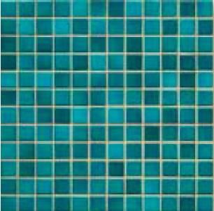 Jasba Fresh pacific blue-mix JA-41208 H Mosaik 2x2 32x32 glänzend