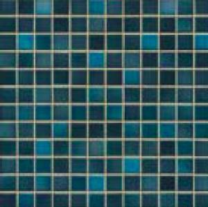 Jasba Fresh midnight blue-mix JA-41209 H Mosaik 2x2 32x32 glänzend