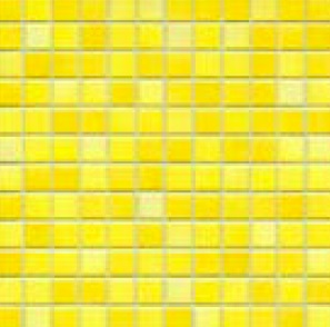 Jasba Fresh sunshine yellow-mix JA-41215 H Mosaik 2x2 32x32 glänzend