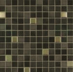 Jasba Fresh midnight black-mix JA-41505 Mosaik 2x2 32x32 glänzend metallic