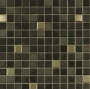 Jasba Fresh midnight black-mix JA-41505 Mosaik 2x2 32x32 glänzend metallic