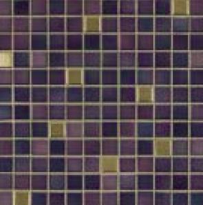 Jasba Fresh vivid violet-mix JA-41510 Mosaik 2x2 32x32 glänzend metallic