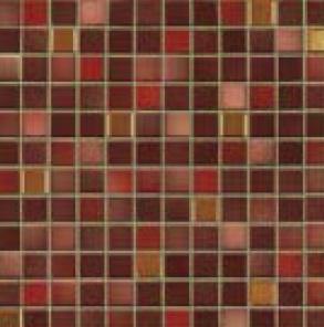Jasba Fresh mystic red-mix JA-41513 Mosaik 2x2 32x32 glänzend metallic