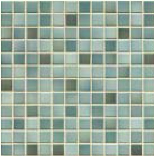 Jasba Frech Secura denim blue-mix JA-41306 H Mosaik 2x2 32x32 natural R10