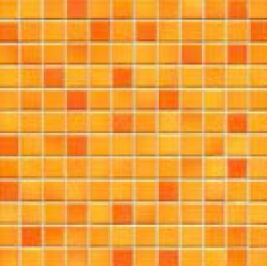 Jasba Frech Secura sunset orange-mix JA-41311 H Mosaik 2x2 32x32 natural R10