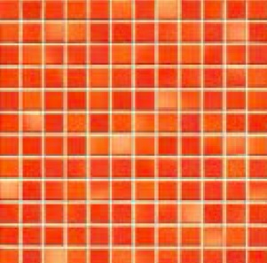 Jasba Frech Secura coral red-mix JA-41312 H Mosaik 2x2 32x32 natural R10