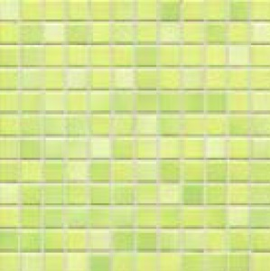 Jasba Frech Secura lime green-mix JA-41314 H Mosaik 2x2 32x32 natural R10