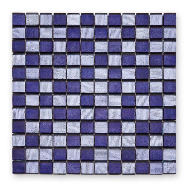 Bärwolf Fineline purple BA-GL-12002 Glas Mosaik 2,3x2,3 30x30 glänzend