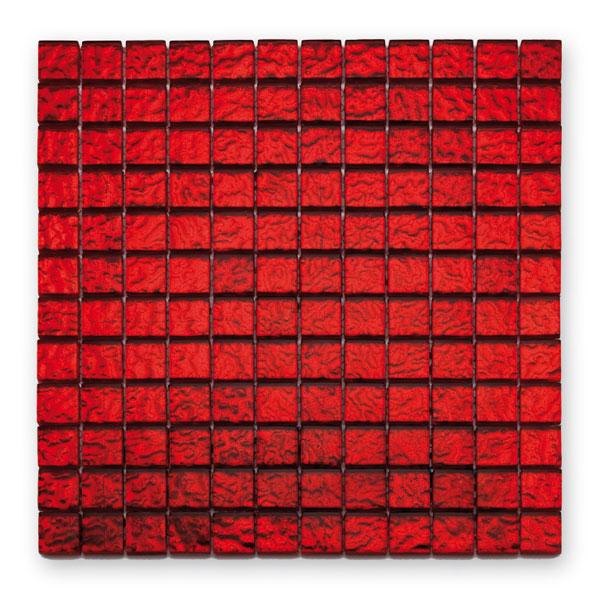 Bärwolf Translucent vulcano BA-GL-10002 Glas Mosaik 2,3x2,3 30x30 glänzend