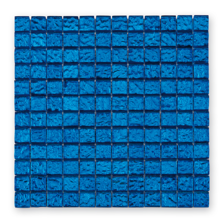 Bärwolf Translucent deep sea BA-GL-12006 Glas Mosaik 2,3x2,3 30x30 glänzend