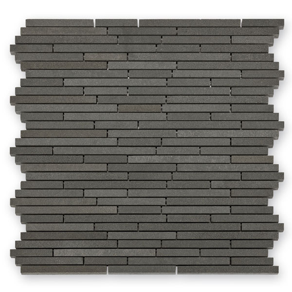 Bärwolf Sticks ash grey BA-BM-10003 Basalt Mosaik Vario 30x30 matt